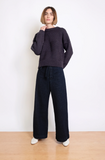 Micaela Greg Lapis Bevel Sweater