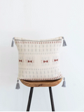 Karu Nagaland Cushion in Rust & Ivory