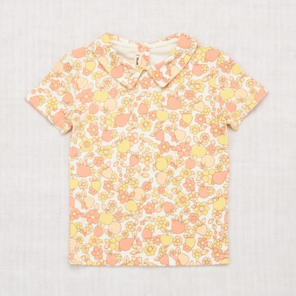 PREVIEW Collar Tee - Sunflower Orchard Print