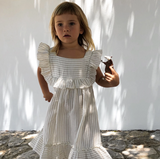 Liilu Organics Lina Dress in Stripe