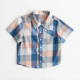 Lali Thistle Shirt in Blue Chex