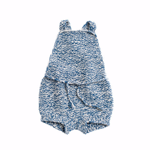 Misha and Puff Starfish Sunsuit / Indigo