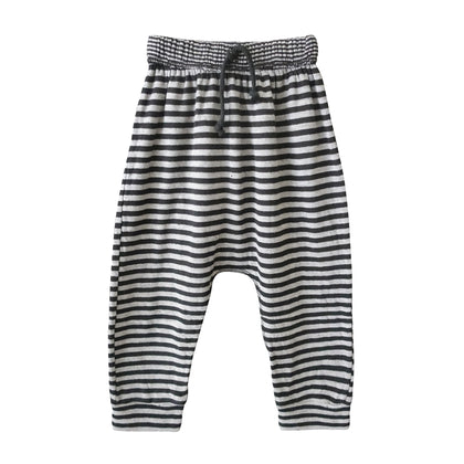 Nico Nico Perry Striped Pants in Black