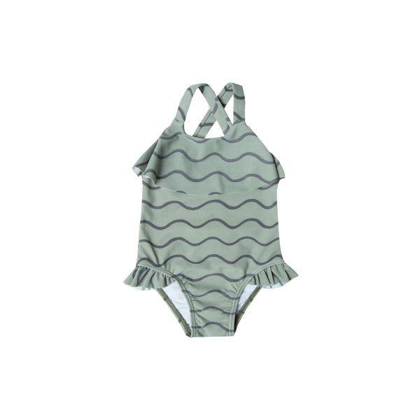 Rylee and Cru swim ruffle onepiece for kids, baby and women