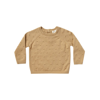 Quincy Mae Bailey Knit Sweater in Honey
