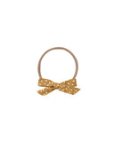 Rylee & Cru Seeds Bow Headband in Saffron