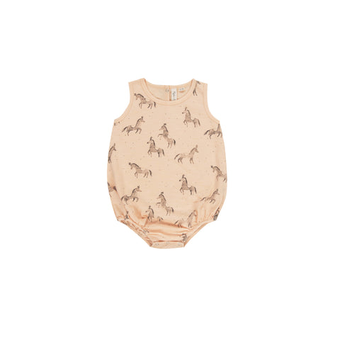 Rylee and Cru Circus Horses Bubble Onesie