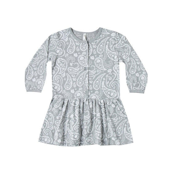 Rylee & Cru Paisley Button Up Dress