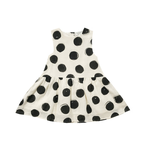 Rylee and Cru Dots Button Back Dress