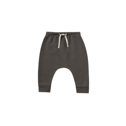 Quincy Mae Fleece Sweatpant in Coal