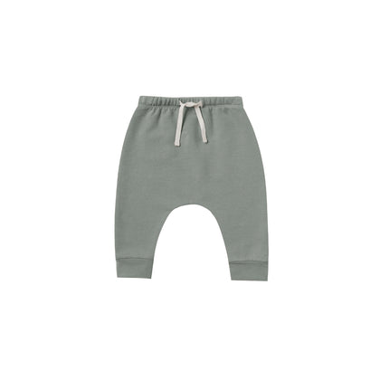 Quincy Mae Fleece Sweatpant in Eucalyptus
