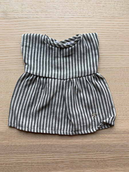 Minikane Baby Cotton Dress in Stripe