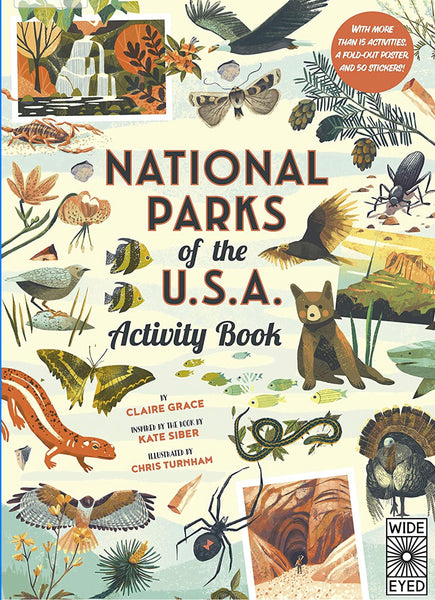 The National Parks of the USA Activity Book