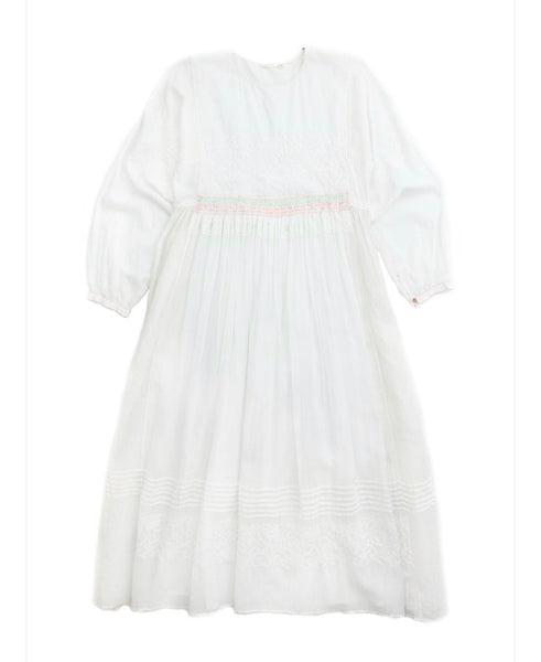 Injiri Dress - Muslin 18 Dress in White