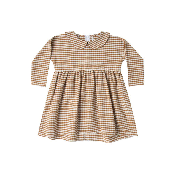 Rylee & Cru Gingham Collared Dress
