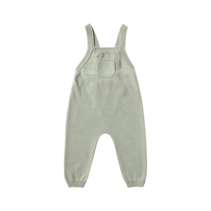 Quincy Mae Knit Overall Sage
