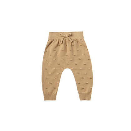 Quincy Mae Knit Pant in Honey