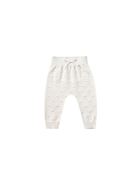 Quincy Mae Knit Pant in Ivory