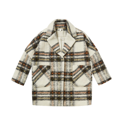 Rylee & Cru Plaid Coat