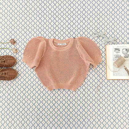 Soor Ploom Mimi Knit Top in Clay