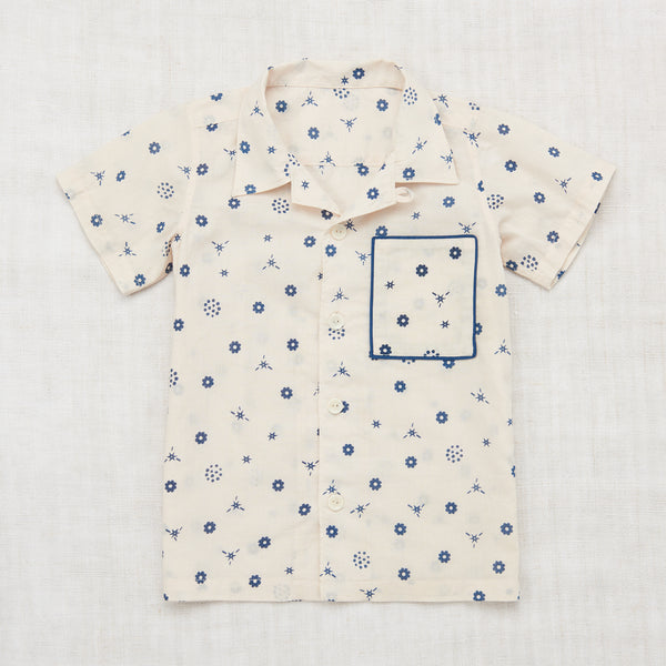 Misha and Puff Backyard Button Down  - Bandana Print