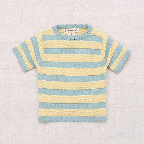 Misha & Puff Boardwalk T Shirt Faded Indigo