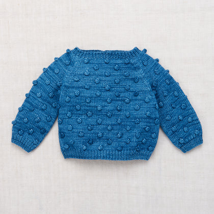 Misha & Puff Popcorn Sweater in Cobalt