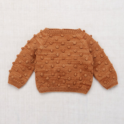 Misha & Puff Popcorn Sweater in Rose Gold
