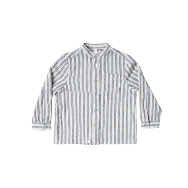 Rylee & Cru Striped Mock Neck Shirt