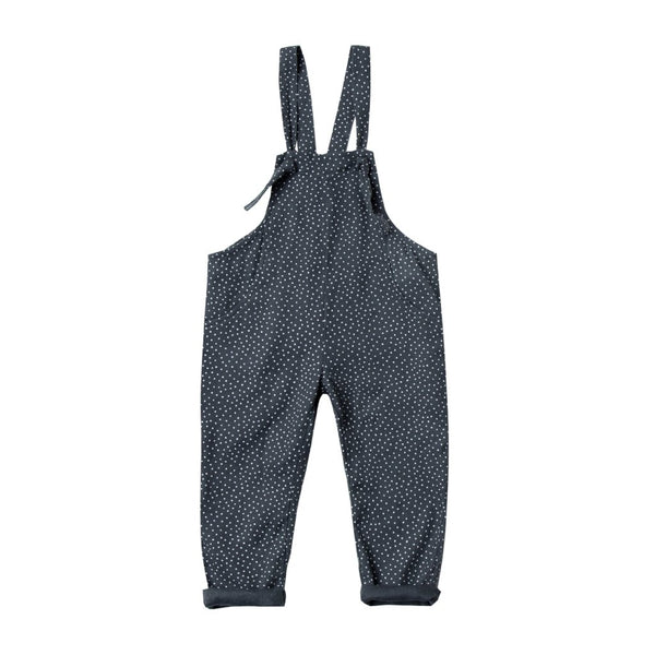 Rylee & Cru Dot Pioneer Overall in Midnight