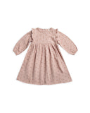 Rylee & Cru Leaf Emb Piper Dress