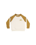 Rylee & Cru You're Golden Raglan Sweatshirt