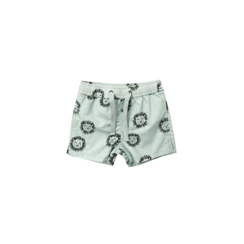 Rylee and Cru Lions Swim Trunk