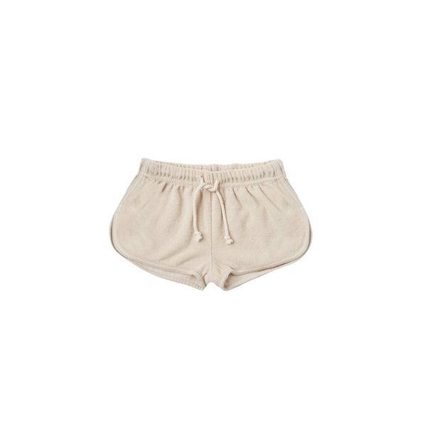 Rylee & Cru Terry Track Short in Shell