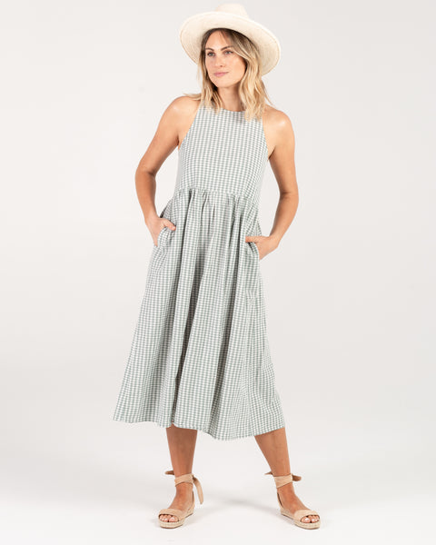 Rylee & Cru Women Gingham Zoe Dress