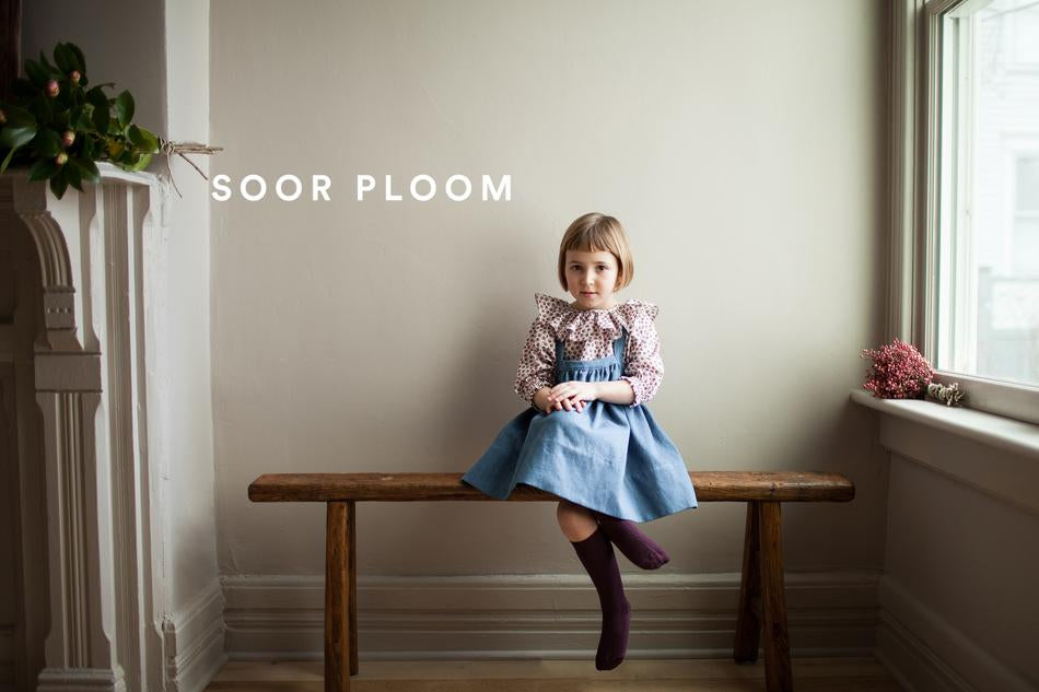 Soor Ploom Fall Collection for baby and girl clothing.  Josie Dress, pinafores and lots more lovely clothing.