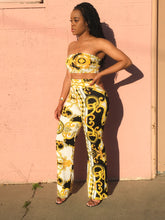 Load image into Gallery viewer, Bandeau + Super High Waisted Trouser Co-Ord