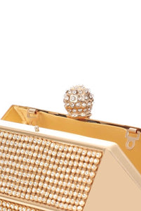 Downtown Girl Rhinestone Mini - Clutch