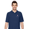 Men Soft Double Pique Polo (Embroidery)