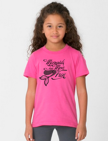 Mermaid Toddler Short Sleeve T-Shirt
