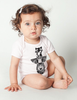 Totem Friends Baby Rib Short Sleeve Onesie