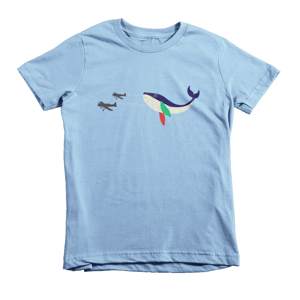 579e7e63547ac6 Whale of a Time Toddler Short Sleeve T-Shirt – Milkweed and Honey