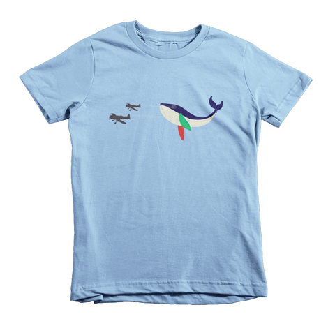 Whale of a Time Toddler Short Sleeve T-Shirt