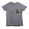 Rainbow Raccoon Toddler Short Sleeve T-Shirt