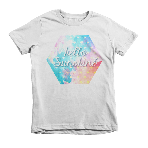 Hello Sunshine Toddler Short Sleeve T-Shirt