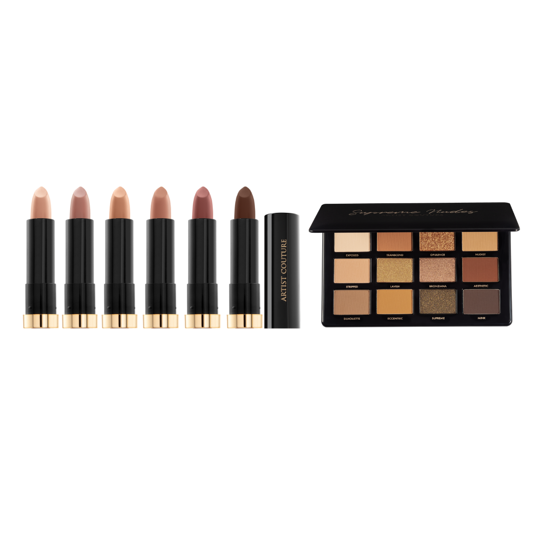 Silk Cream Lipsticks + Palette Bundle