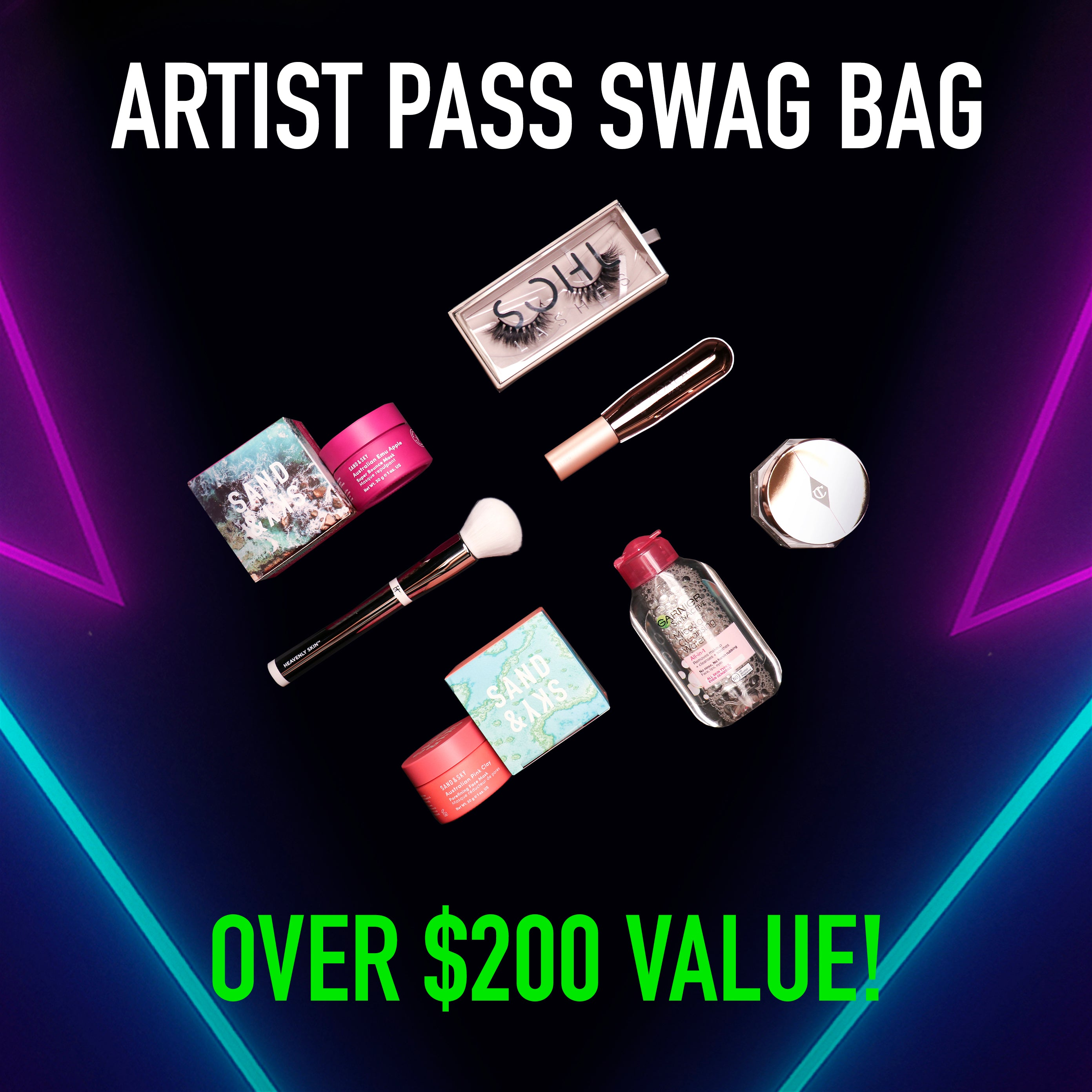 Homechella Artist Pass Bundle