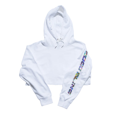 Merch: Coco Bling Crop Hoodie