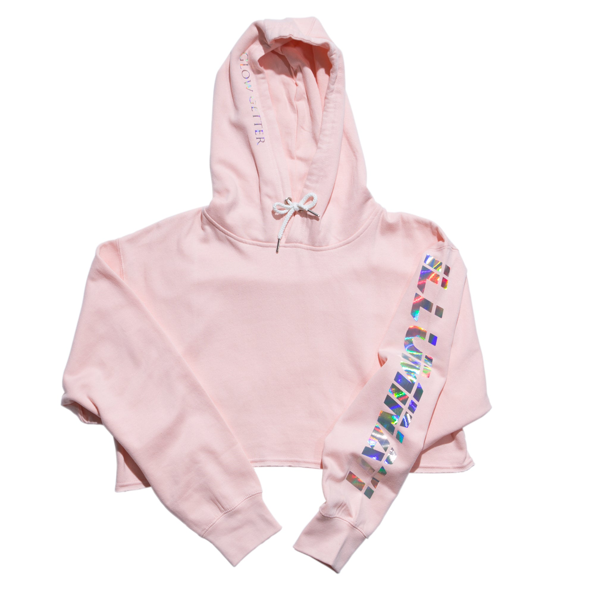 Merch: Illuminati Crop Hoodie