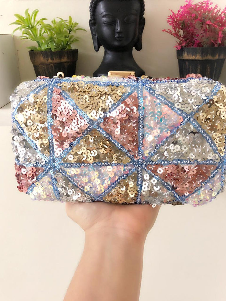 Party Shades Sequinned Clutch